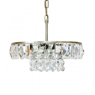 Bakalowits Soehne Chandelier with Large Crystals Vienna