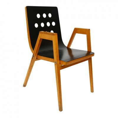 Roland Rainer Stacking Chair Wiener Stadthalle